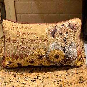 Boyds Bears Decorative Sunflower Pillow